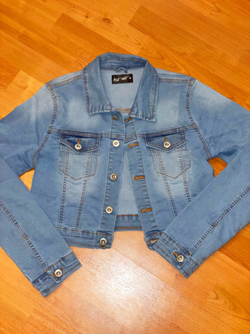 Two Toned Denim Jacket