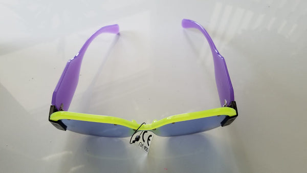 Lime Green & Purple Glasses