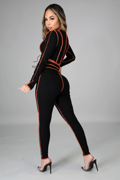 Good Time Legging Set - Black