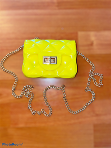 Jelly Crossbody Bag Mini - Yellow