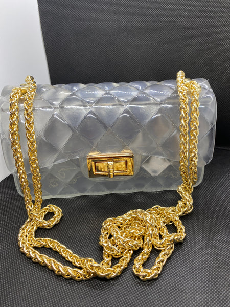 Jelly Crossbody Bag - Clear