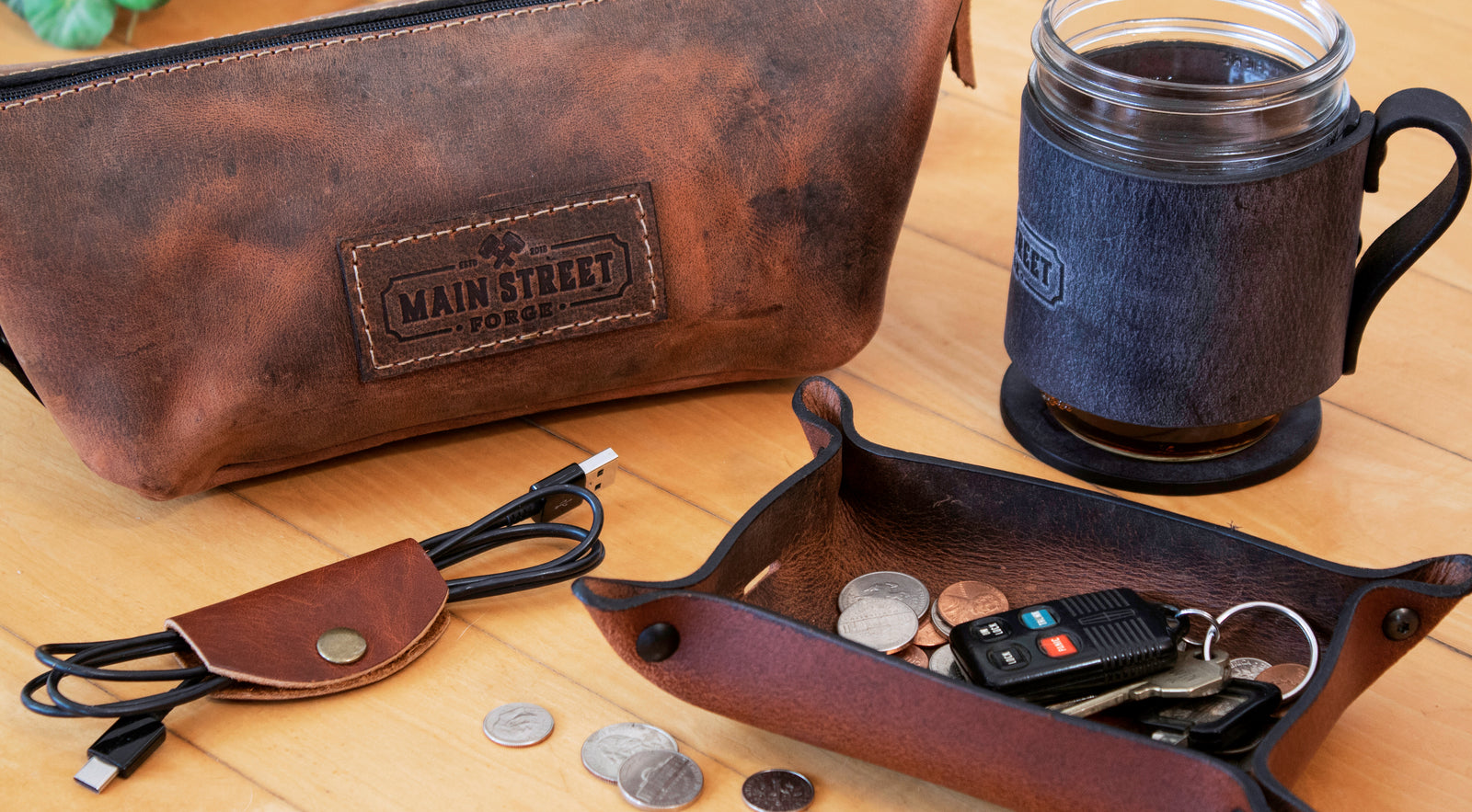Main Street Forge Small Goods Tagged Travel Accessories