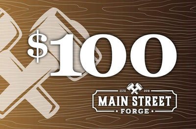 Main Street Forge Gift Card $100.00 USD Gift Card