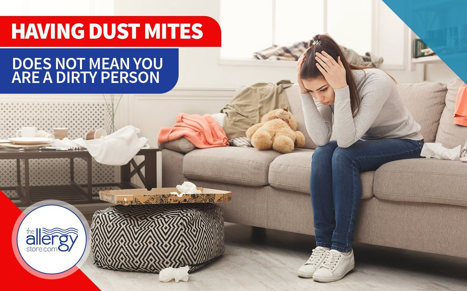 Having Dust Mites Does Not Mean You are a Dirty Person