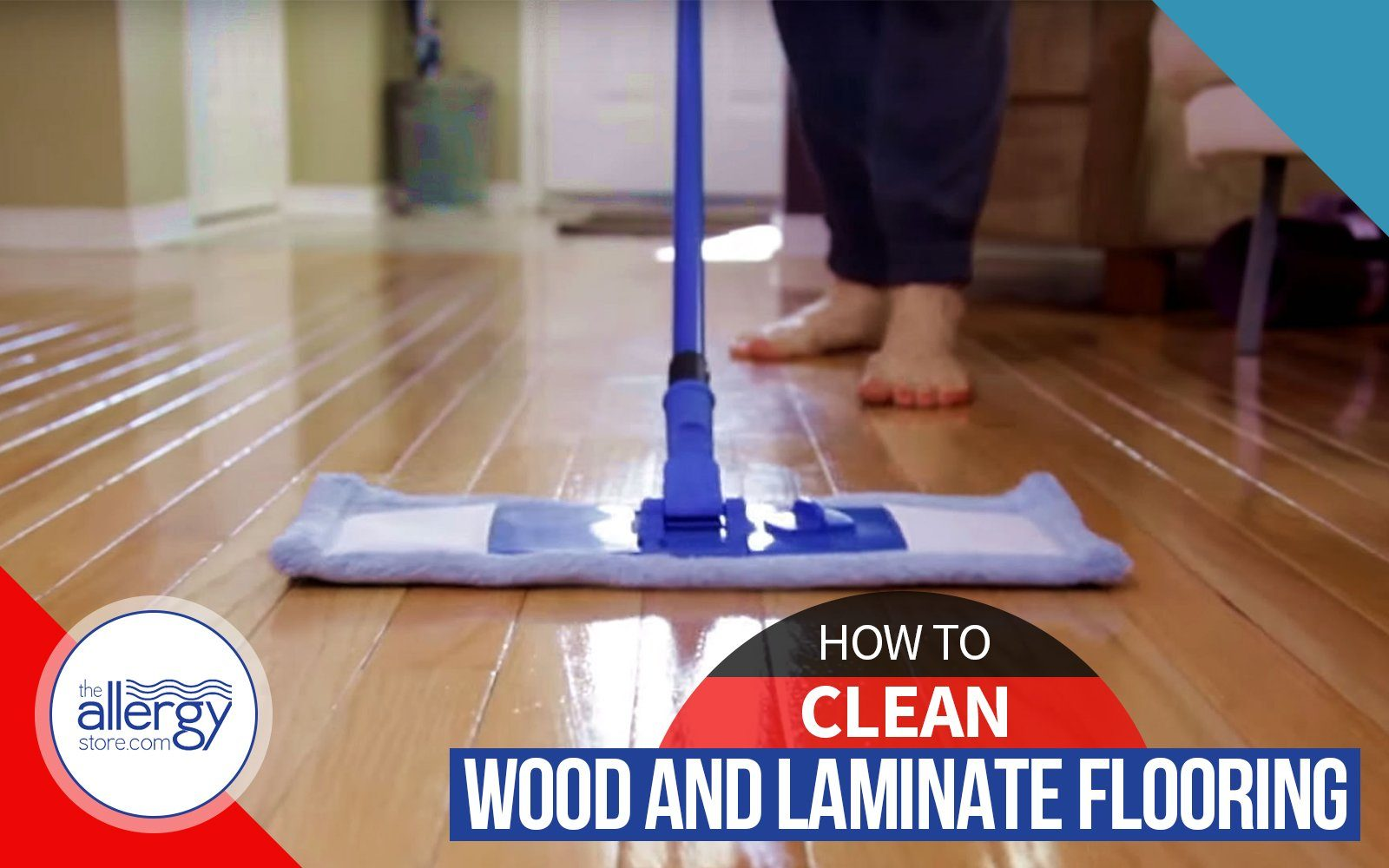 How to Clean Wood and Laminate Flooring