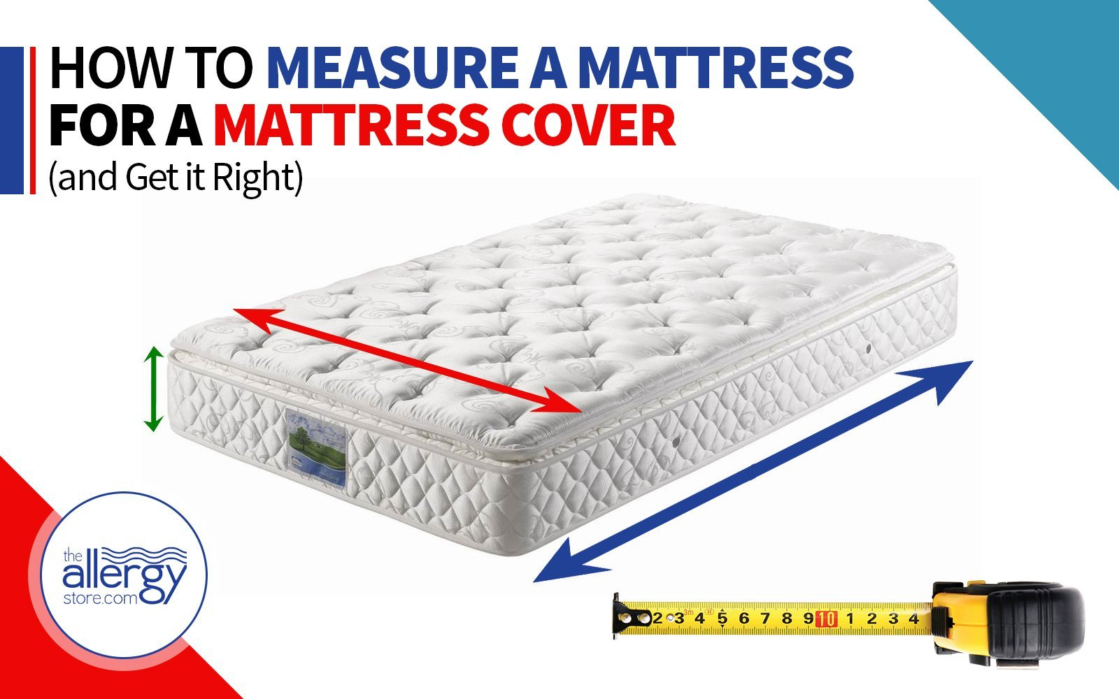 How to Measure a Mattress for a Mattress Cover