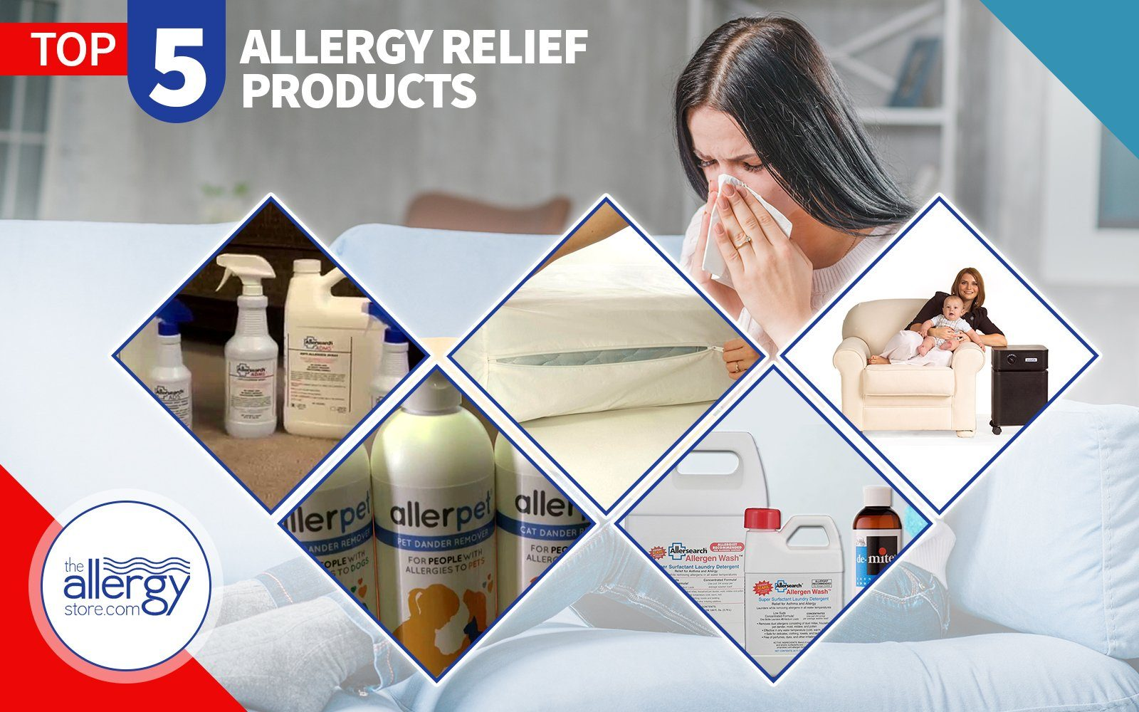 Best 5 Allergy Relief Products