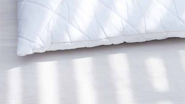 The accumulation of dust mites and all their baggage in our sleeping space can increase a pillow's weight by 10% over two years. Gross!