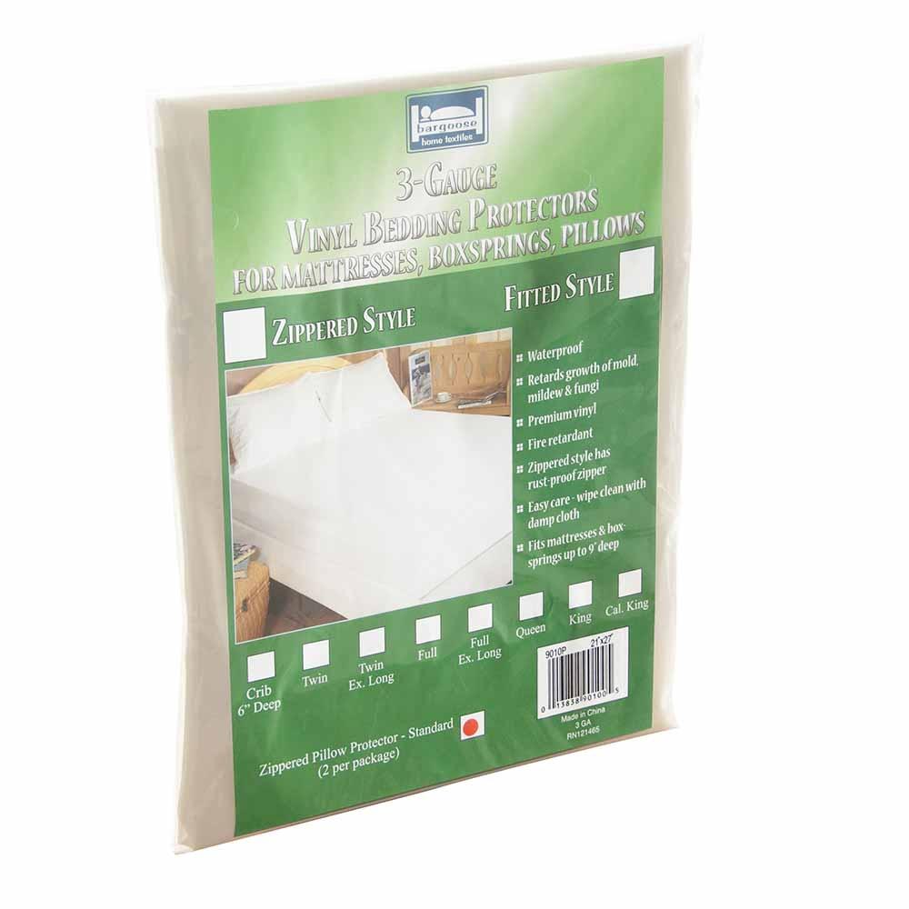 3 Gauge Zippered Vinyl Mattress Protector