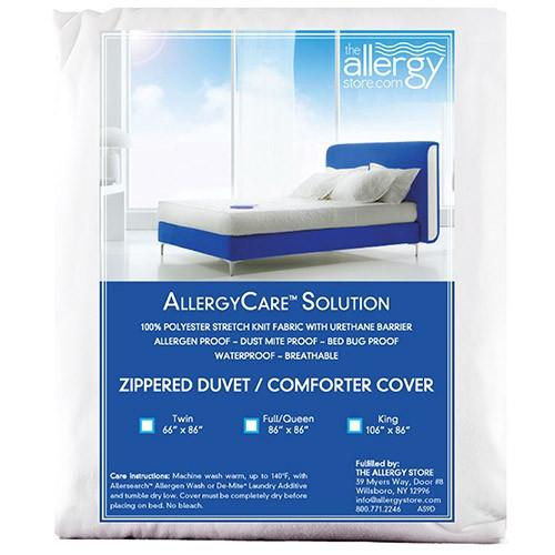 Allergycare Stretch Knit Comforter Cover