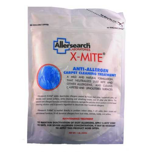 Allersearch X-Mite Carpet Powder