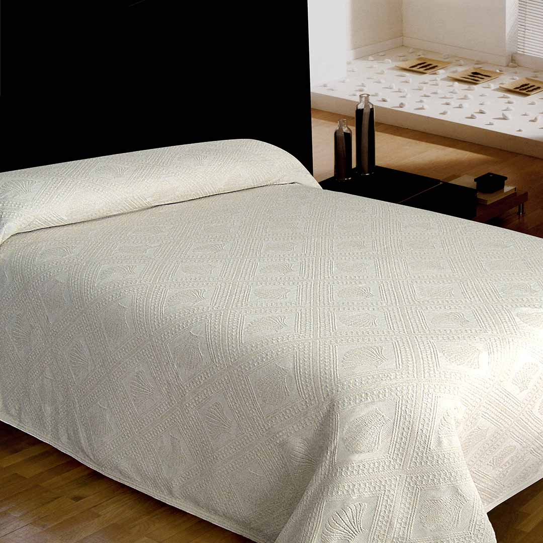 Avalon Jacquard Bedspread - Antique