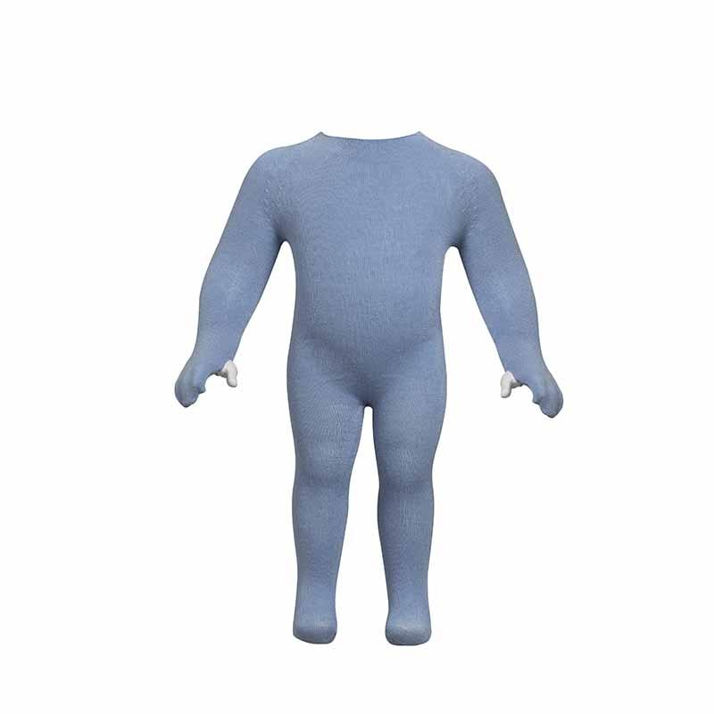 Babygrow Suit Viscose Blue
