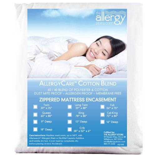 Allersoft Cotton Blend Mattress Covers