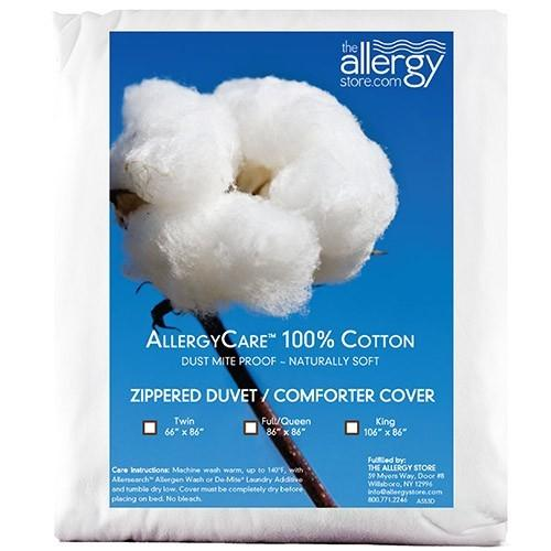 AllergyCare 100% Cotton Comforter Cover