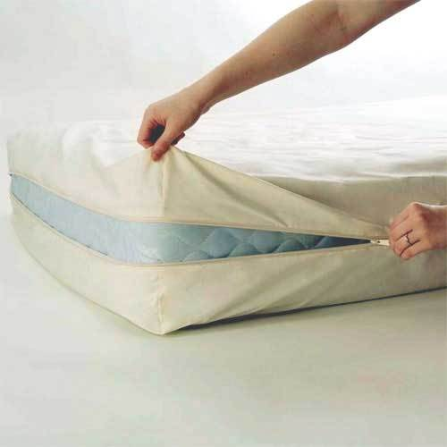 Natural Cotton Crib Mattress Cover