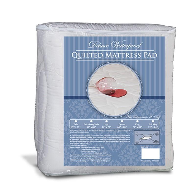 Bargoose Deluxe Waterproof Mattress Pad