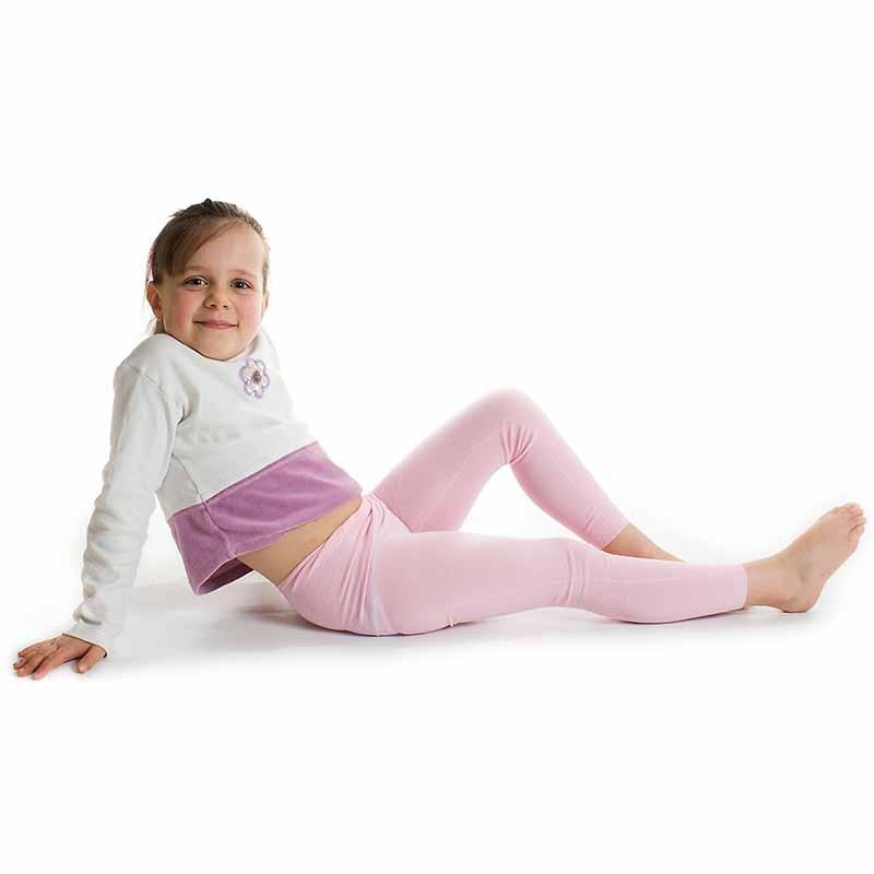 Skinnies Leggings Children Silk Pink