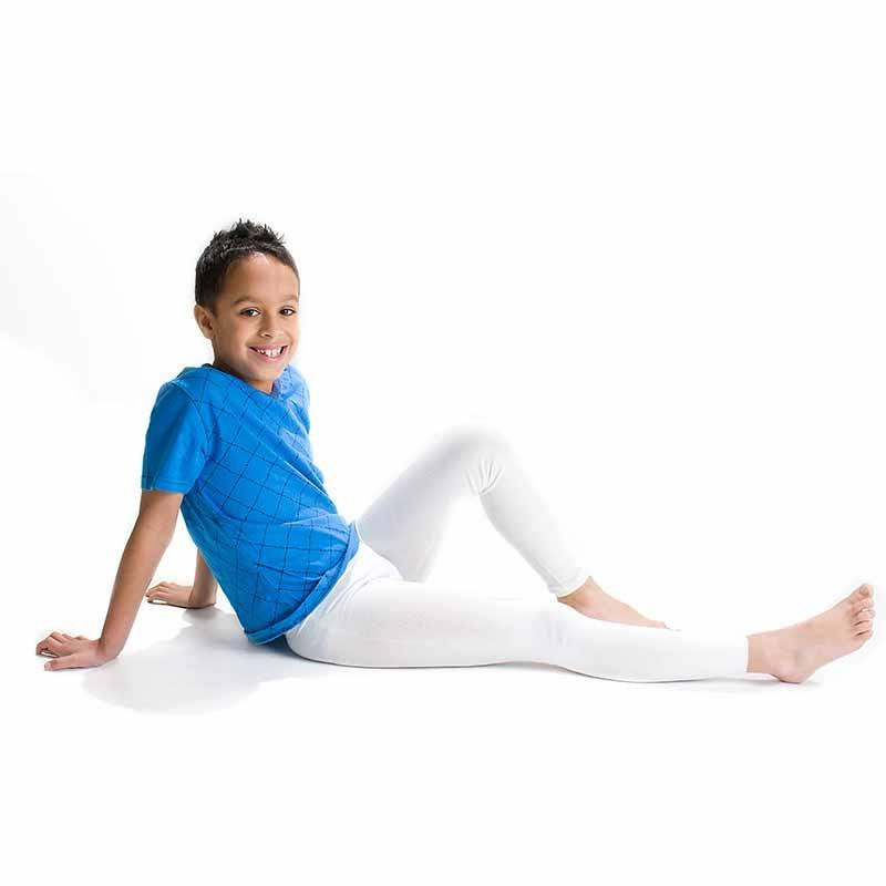 Skinnies Leggings Children Viscose - Ecru