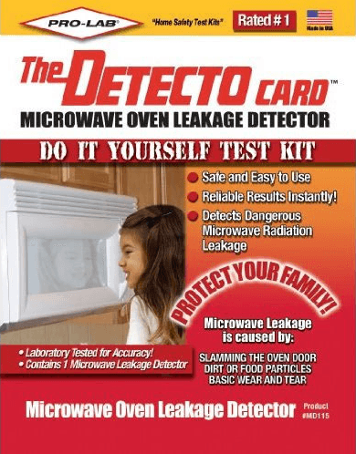 Microwave Leak Detector - Test Kit