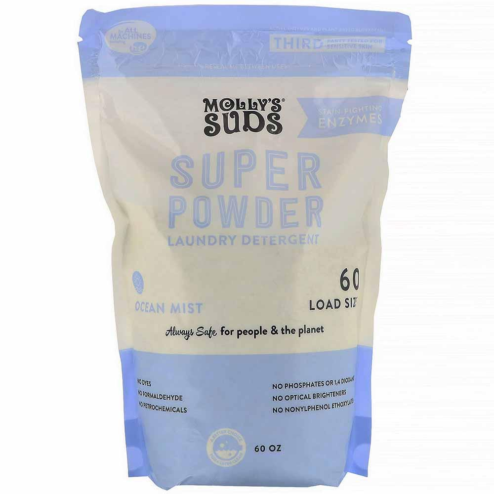 Molly's Suds | Super Powder Laundry Detergent Ocean Mist