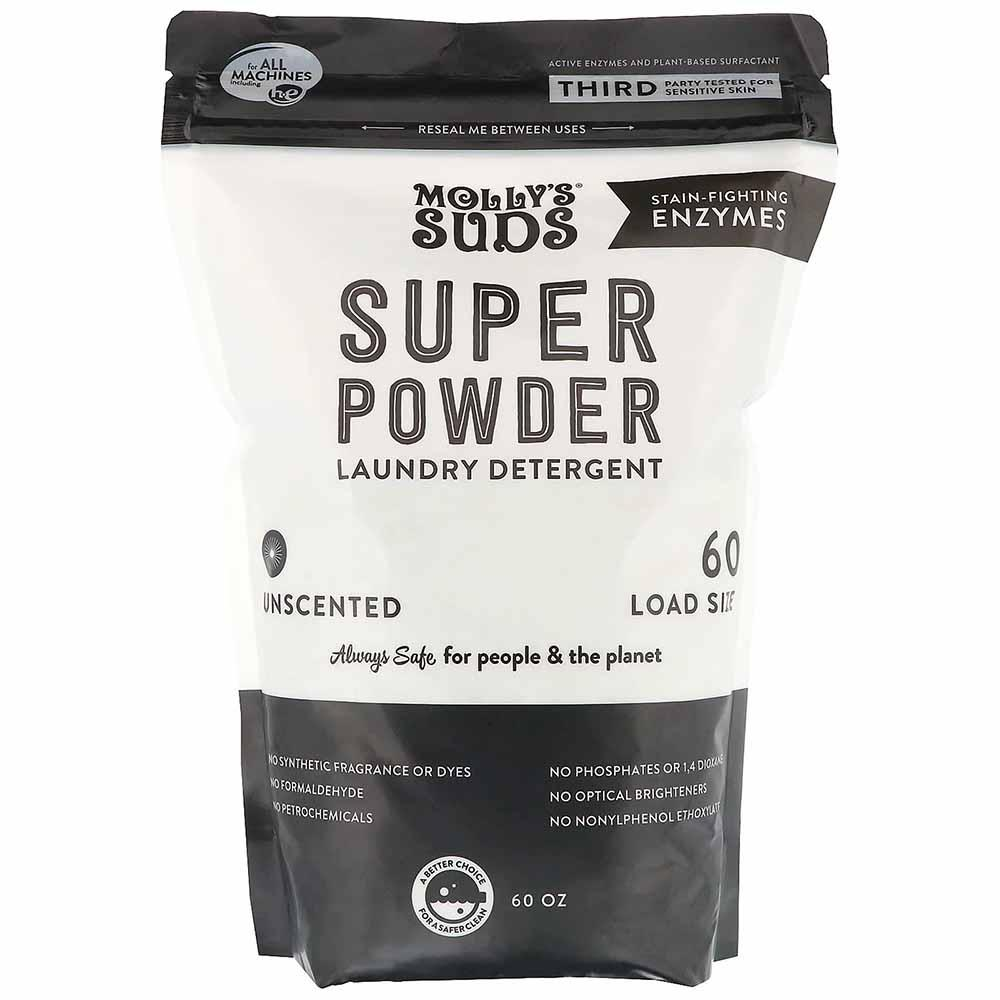 Molly's Suds | Super Powder Laundry Detergent Unscented