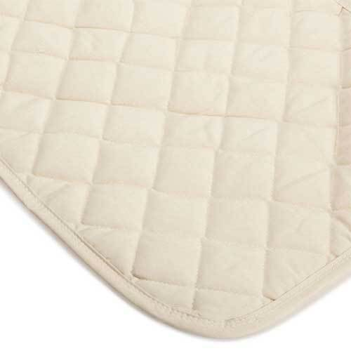 Natural Cotton Top Crib Pads
