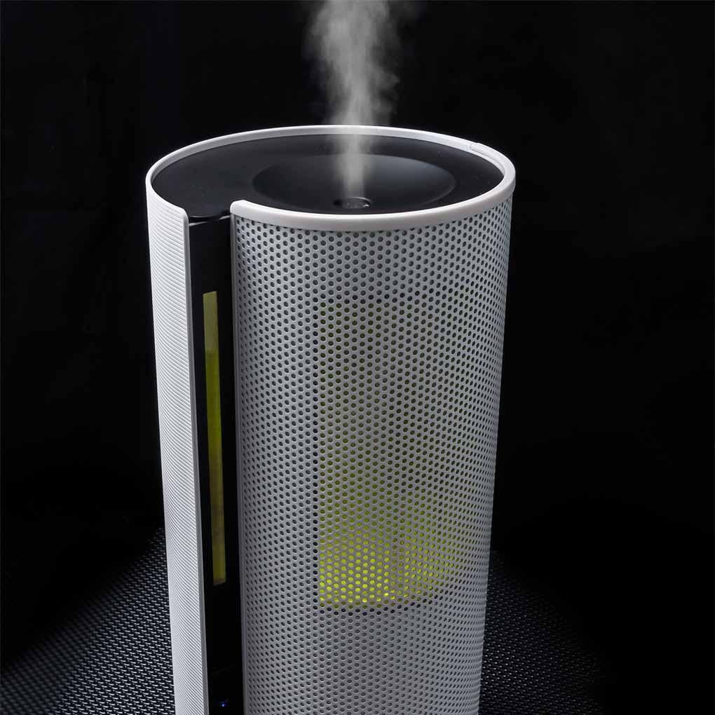 Objecto H5 Spiral Hybrid Humidifier - good for spaces of 650 sqft