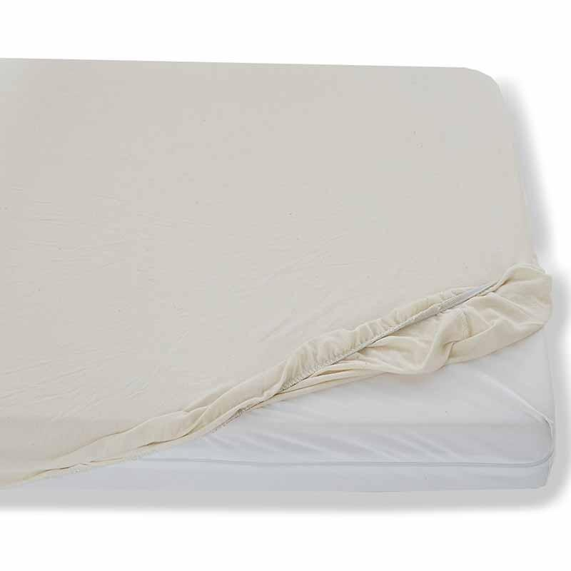 Waterproof Organic Cotton Fitted Mattress Cover