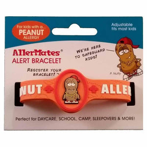Peanut Allergy Bracelet - Carded