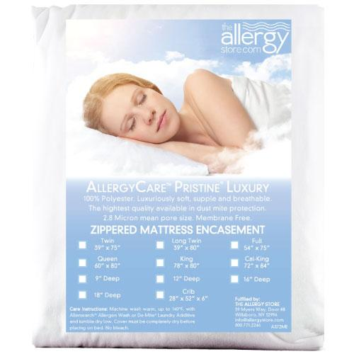Pristine Luxury Dust Mite Proof Mattress Covers