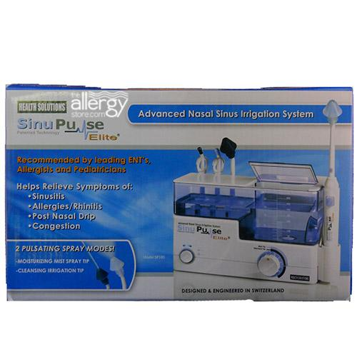 SinuPulse Elite Nasal Irrigation System Package