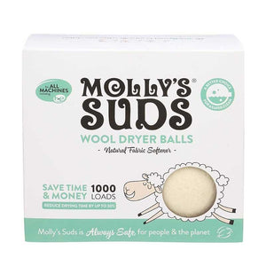 Molly'S Suds Wool Dryer Balls Front