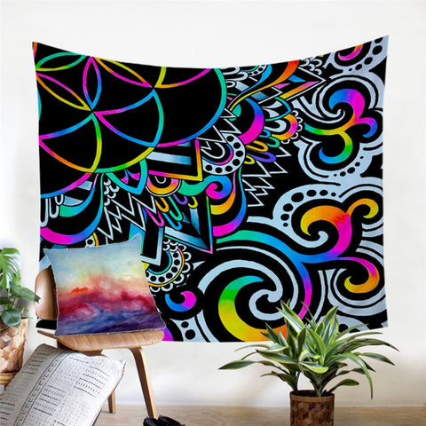 Doodle Magic Tapestry