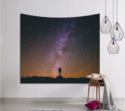 Over Looking The Galaxy Tapestry