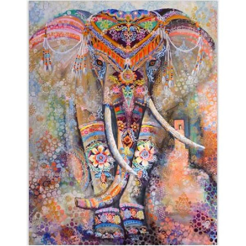 Bohemian Indian Elephant Tapestry