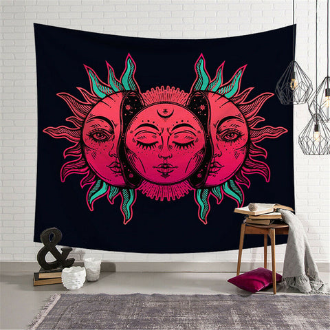 Radical Splitting Sun Tapestry