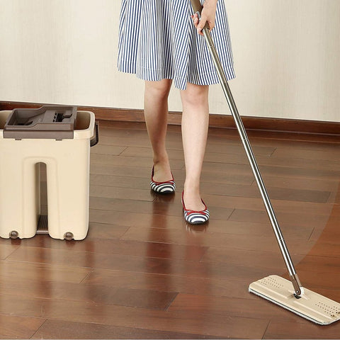 Lazy Floor Mop 360 Spin And Automatic Squeeze Mop For Your Sweet Home