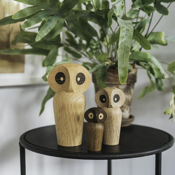 Architectmade Owl Large, Natural - W8,8xH17 - Owl Large fra Architechtmade