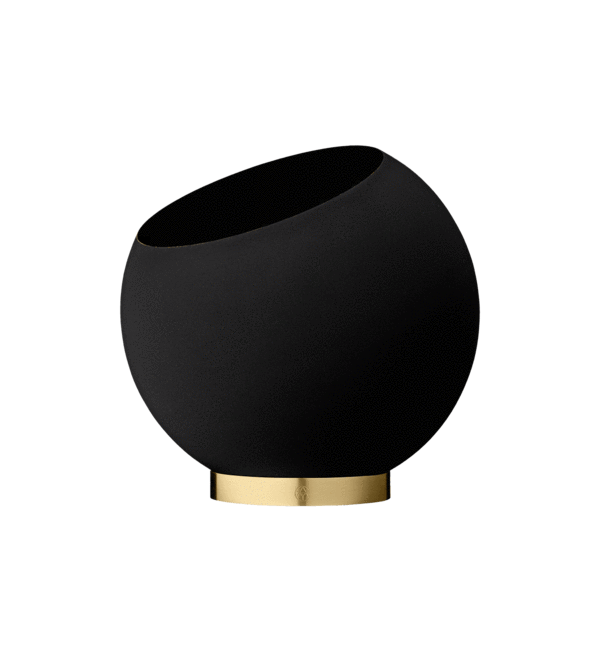 AYTM Potte, Globe Flower Pot, Black - Ø60xH50 - Potte fra AYTM