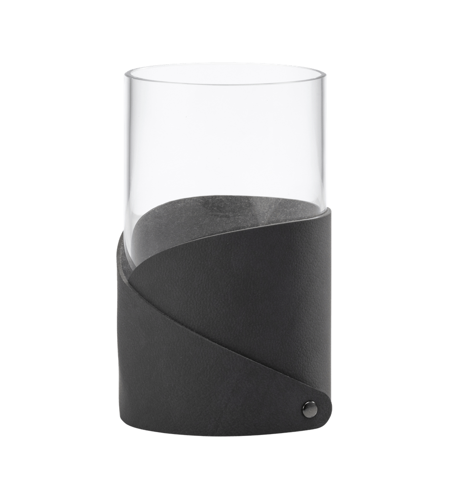 LIND DNA Medium Fold Vase, Antracit - D11xH20 - Vase fra LIND DNA