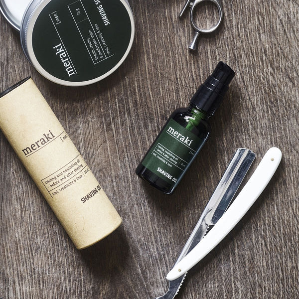 Shaving oil, Men - Shaving oil fra Meraki