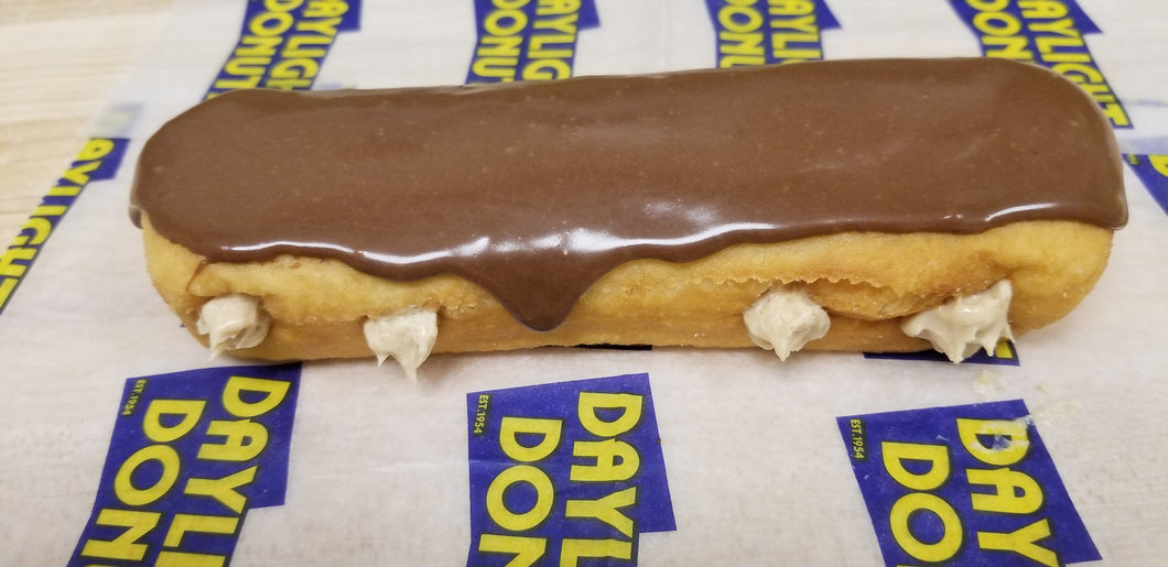 Chocolate Peanut Butter Long John