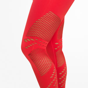 WAVERLY TIGHTS, Raspberry