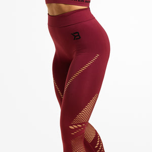 WAVERLY TIGHTS, SANGRIA RED