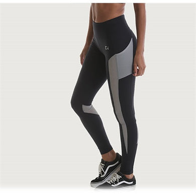 High Waist Side Pocket Mesh Leggings