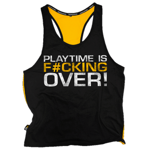 STRINGER (YELLOW BACK) - PLAYTIME IS OVER