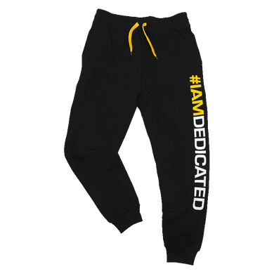 FITTED TRACKSUIT PANTS