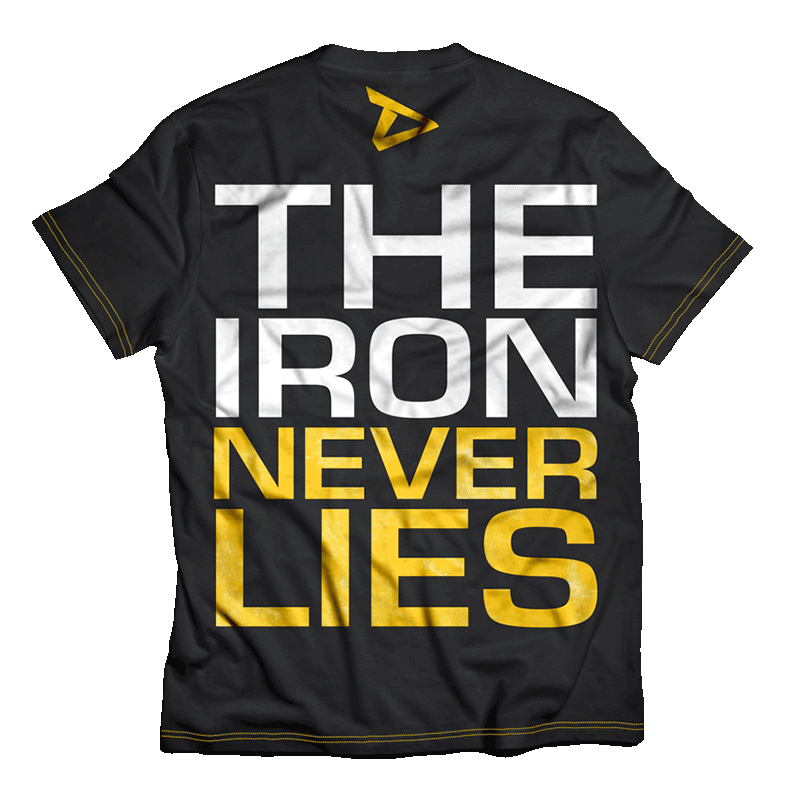 The iron never lies t-paita