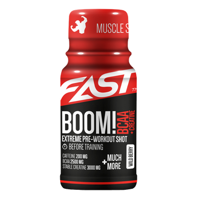 BOOM! BCAA SHOT (12X60ML)